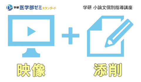 映像+添削